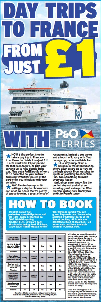 PressReader - Daily Star: 2018-07-28 - DAY TRIPS TO FRANCE