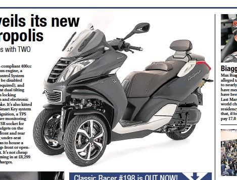 PressReader - Motorcycle Monthly: 2019-06-21 - Peugeot