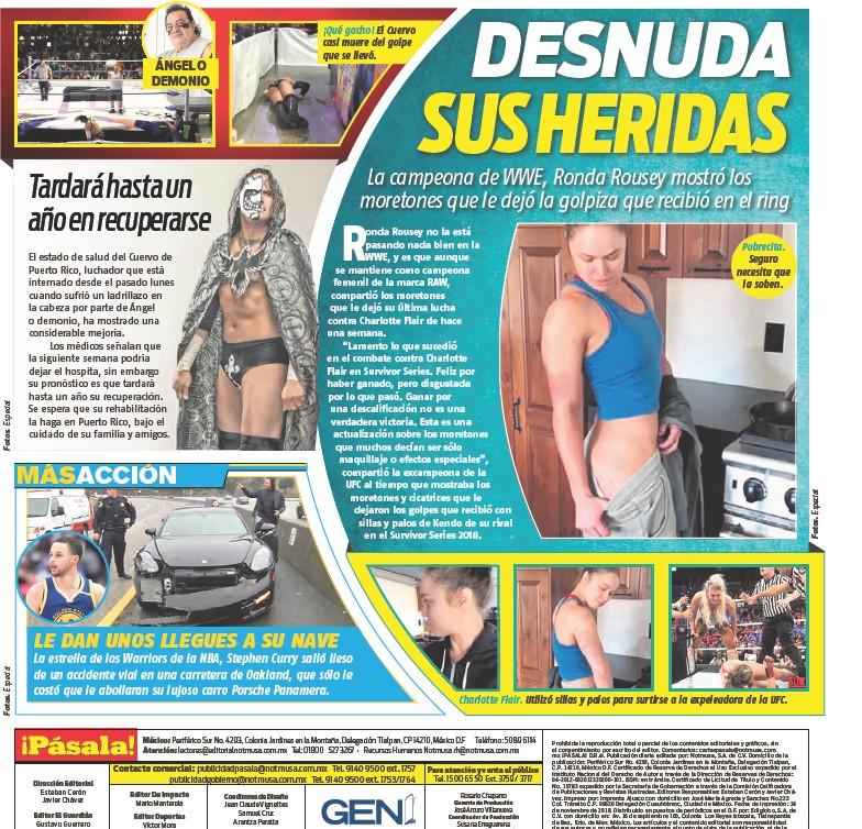 Pressreader Pásala 2018 11 24 Desnuda Sus Heridas