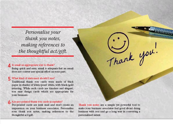 Pressreader micetalk 2013 12 15 thank you notes in business thank you notes are a simple yet powerful tool to make your business associates feel good about doing business with you and go a long way in conveying a negle Image collections