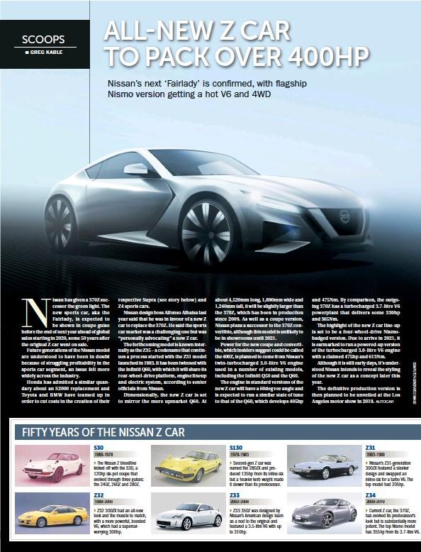 PressReader - Bangkok Post: 2018-02-19 - ALL-NEW Z CAR TO PACK OVER