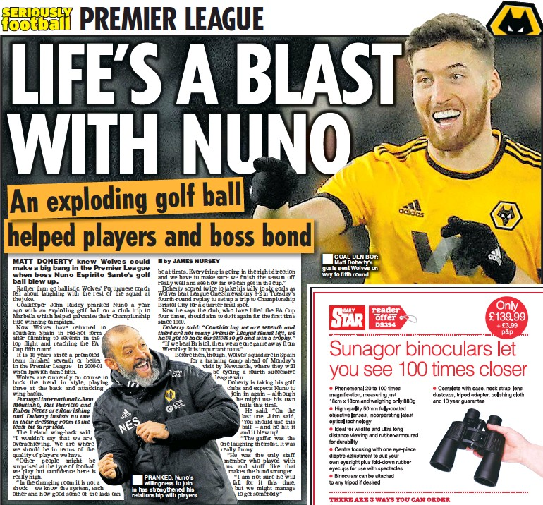 PressReader - Daily Star: 2019-02-07 - LIFE'S A BLAST WITH NUNO