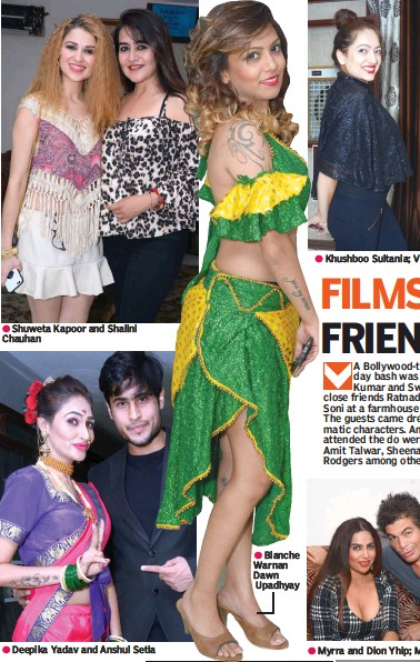 PressReader - The Asian Age: 2017-06-23 - FILMS AND FRIENDSHIP