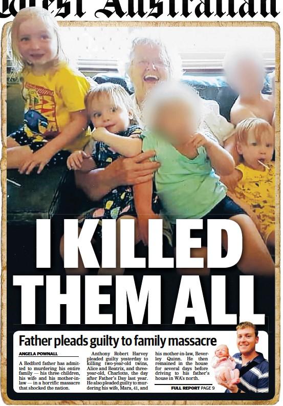 PressReader - The West Australian: 2019-04-25 - I KILLED