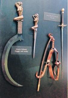 PressReader - Bangkok Post: 2015-05-07 - LIVING BY THE SWORD Daario Naharis Swords