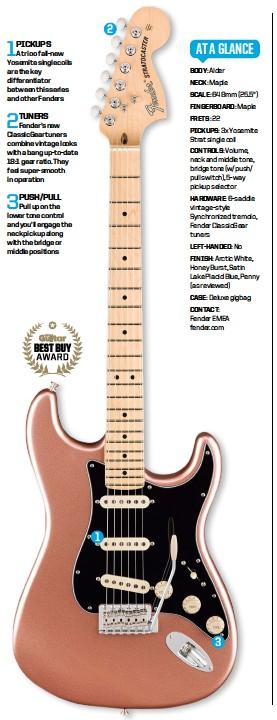 PressReader - Total Guitar: 2019-01-18 - Fender american performer strat