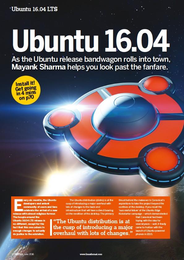 PressReader - Linux Format: 2016-05-12 - Ubuntu 16 04 LTS