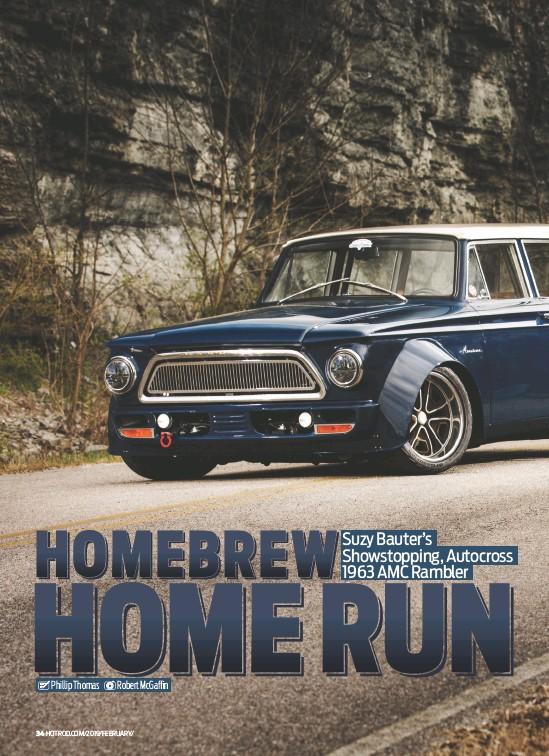 PressReader - Hot Rod: 2019-02-01 - Autocross 1963 AMC Rambler