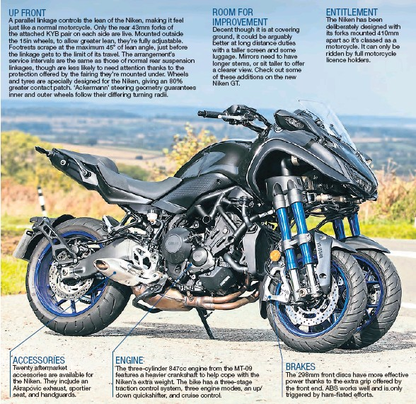 PressReader - Motorcycle Monthly: 2019-01-18 - Living with the Niken