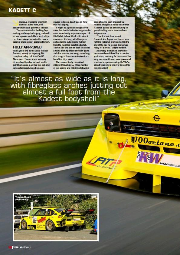 PressReader - Performance Vauxhall: 2014-11-20 - Yellow Peril