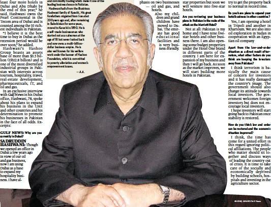 PressReader - Gulf News: 2009-04-22 - Hashoo Group to expand