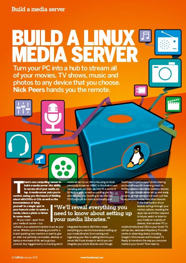 PressReader - Linux Format: 2015-01-02 - Build a Linux media