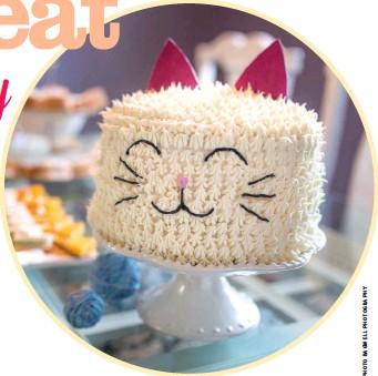 Sensational Pressreader Modern Cat 2018 10 09 This Happy Cat Cake Is Funny Birthday Cards Online Overcheapnameinfo
