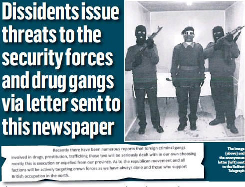 PressReader - Belfast Telegraph: 2019-01-25 - Dissidents
