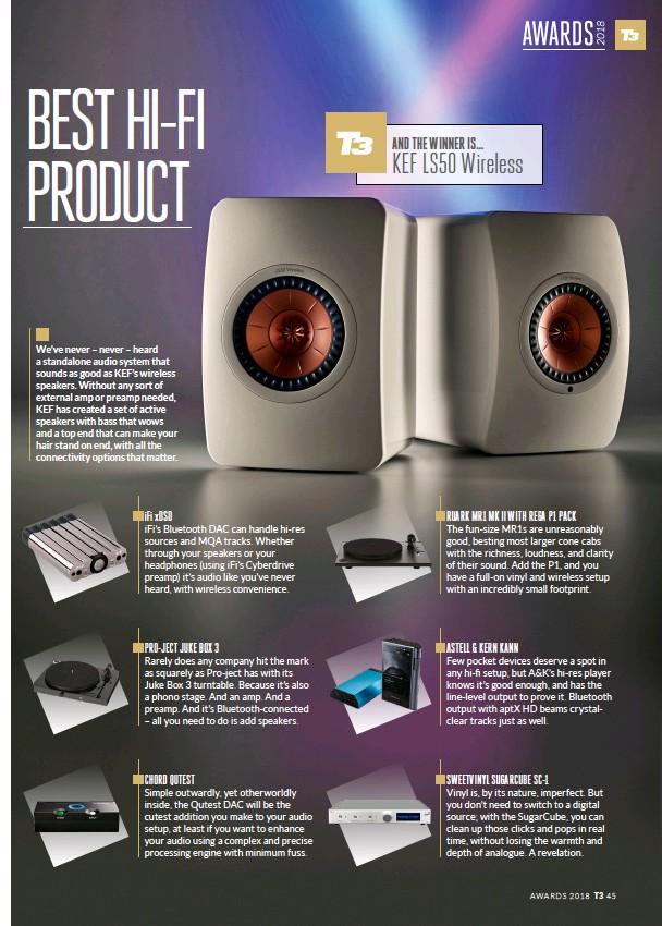 PressReader - T3: 2018-09-28 - Best Hi-Fi Product