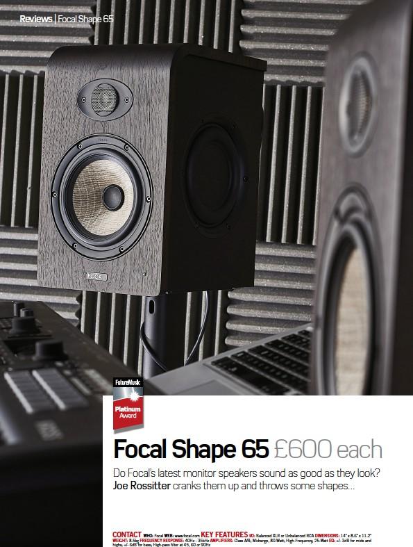 PressReader - Future Music: 2018-02-08 - Focal Shape 65