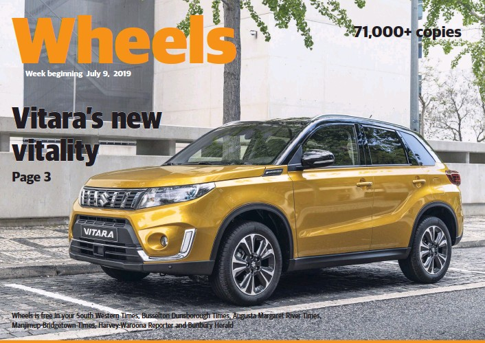 PressReader - South Western Times: 2019-07-11 - Vitara's new