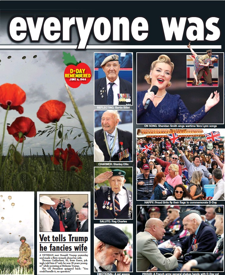 PressReader - Daily Star: 2019-06-06 - Tributes to D-Day heroes