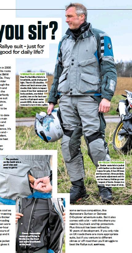 PressReader - RiDE (UK): 2016-04-13 - BMW Rallye suit £985