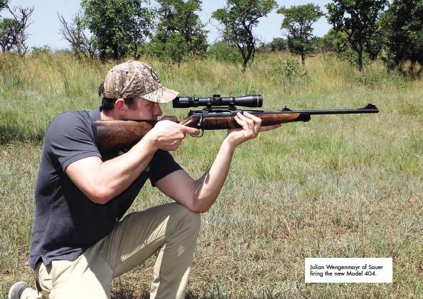 PressReader - SA Jagter Hunter: 2015-04-01 - Sauve shooter