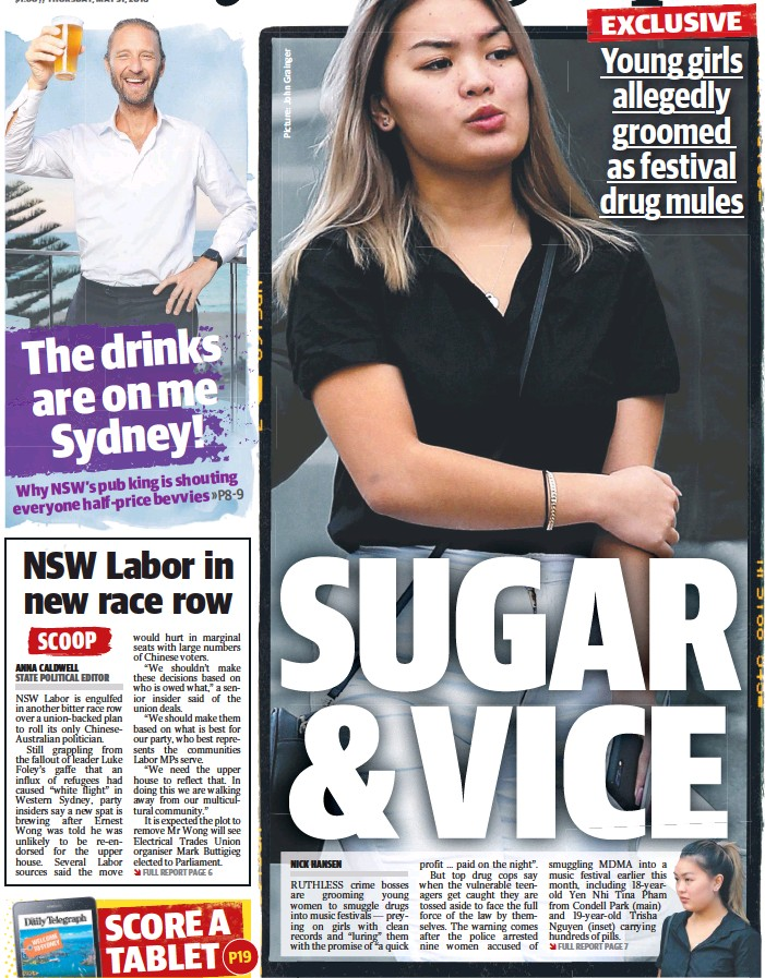 PressReader - The Daily Telegraph (Sydney): 2018-05-31 - SUGAR & VICE