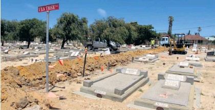 PressReader - Geraldton Guardian: 2018-02-02 - Cemetery