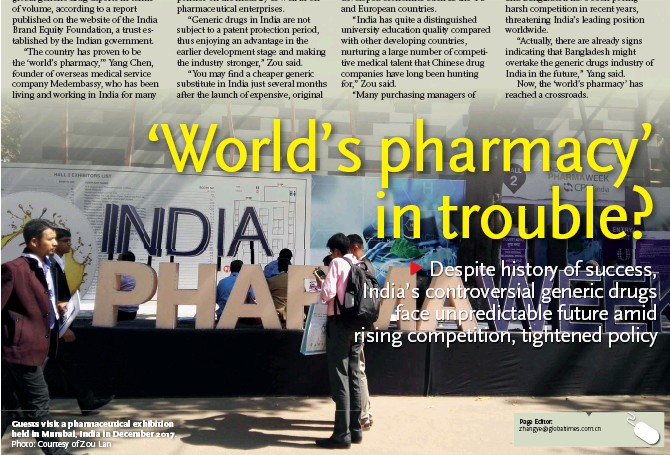 PressReader - Global Times: 2018-07-18 - 'World's pharmacy