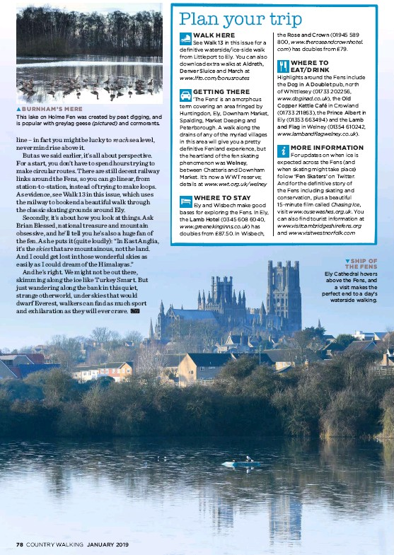 PressReader - Country Walking Magazine (UK): 2019-01-01