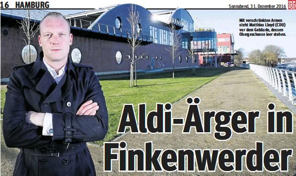 Pressreader Hamburger Morgenpost 2016 12 31 Aldi Arger In