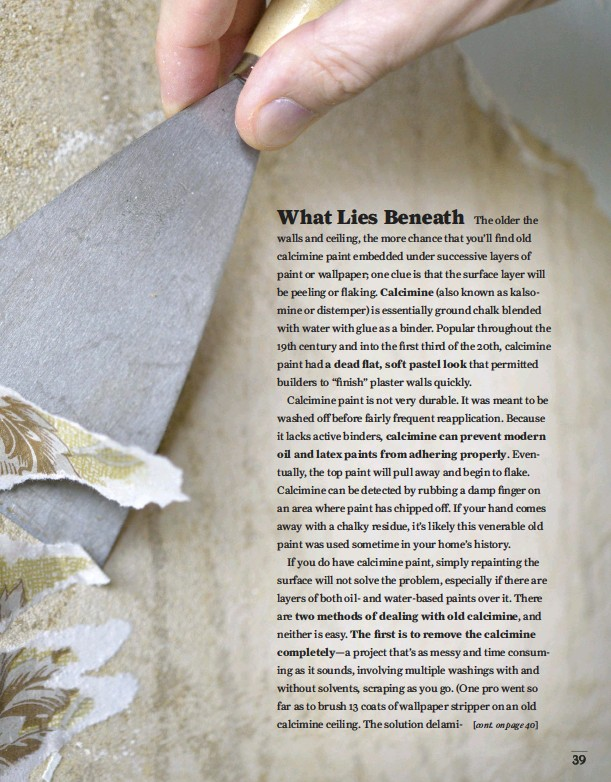PressReader - Old House Journal: 2018-05-01 - Wall Prep Secrets