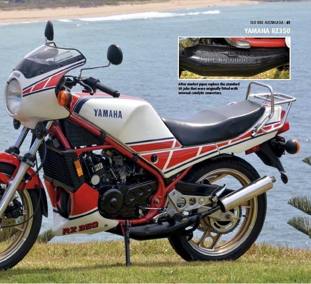 PressReader - Old Bike Australasia: 2018-03-01 - Yamaha RZ350 Wet