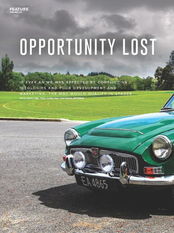 PressReader - New Zealand Classic Car: 2019-01-28 - 1968 MGC