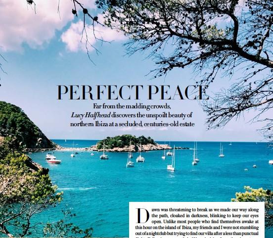 PressReader - Harper's Bazaar (UK): 2018-06-01 - PERFECT PEACE
