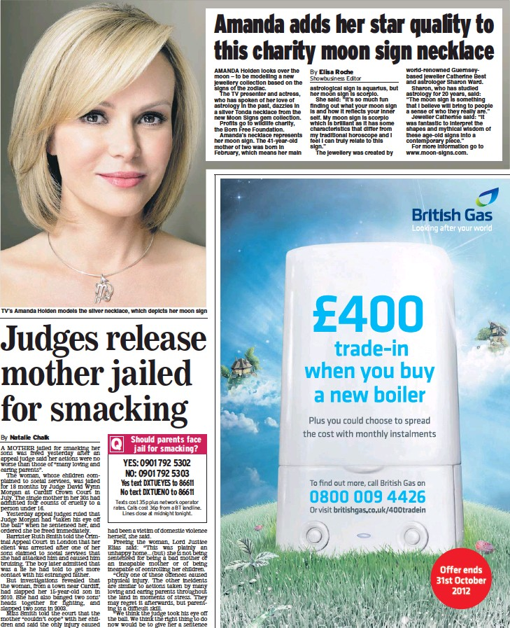 PressReader - Daily Express: 2012-10-02 - Judges release