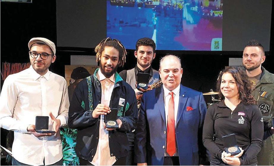 Pornic - 25/01/2018 - Pornic : aux voeux du maire, les jeunes mis à l'honneur