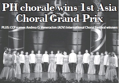 PressReader - Manila Times: 2019-08-04 - PH chorale wins 1st
