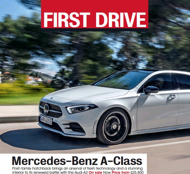 PressReader - What Car?: 2018-06-01 - Mercedes-benz A-class