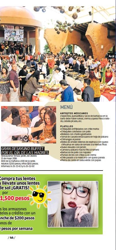 Pressreader Vamos Cd Juárez 2018 05 04 Que No Cocine