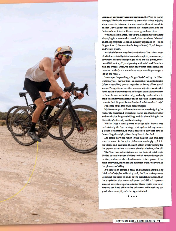 PressReader - Bicycling (South Africa): 2018-09-01 - Totally