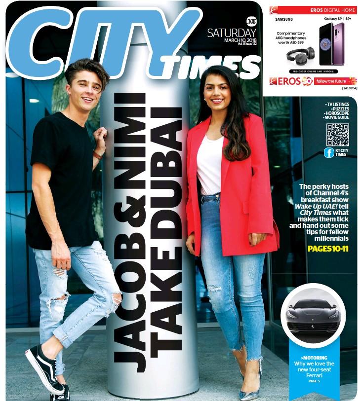 PressReader - Khaleej Times - City Times: 2018-03-10 - JACOB