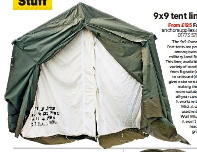 PressReader - LRO (UK): 2016-11-02 - 9x9 tent liner