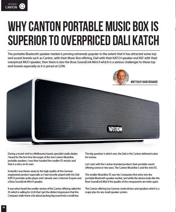 PressReader - SoundMag: 2017-07-07 - Canton Portable Music Box