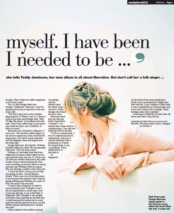 PressReader - The Herald on Sunday - Sunday Herald Life