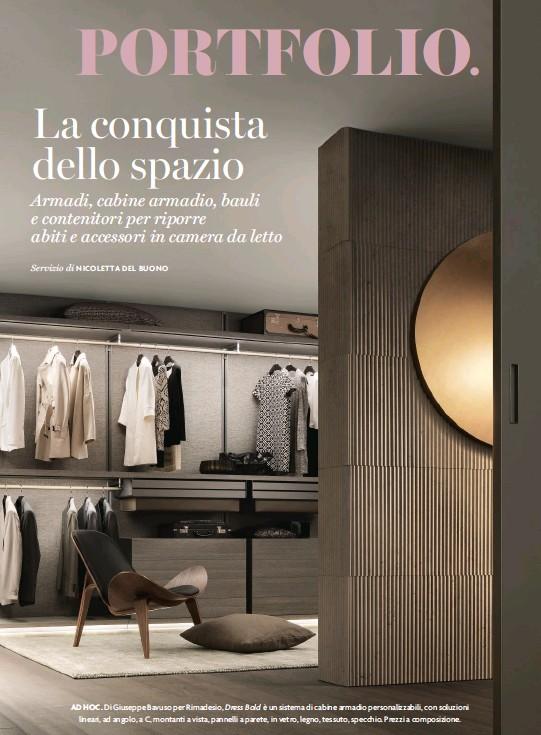 Contenitori Per Cabina Armadio.Pressreader Ad Italy 2018 07 01 Bauli Mobili Contenitori
