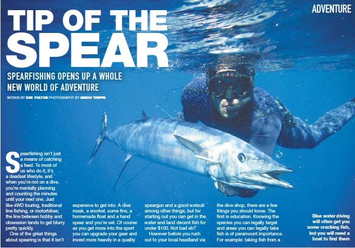 Spearfishing Sunshine Coast Locations