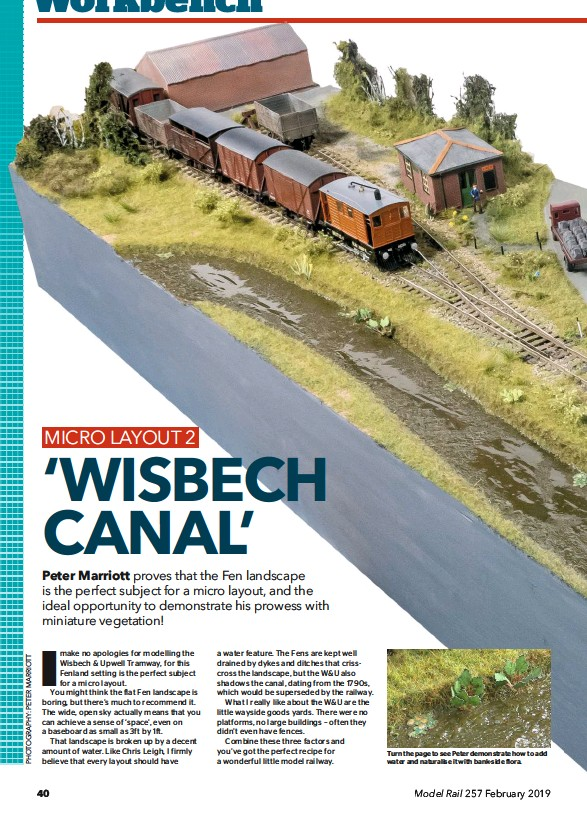 PressReader - Model Rail (UK): 2019-02-01 - 'Wisbech canal'