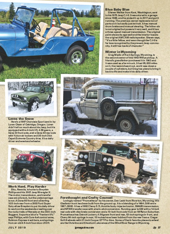 PressReader - Jp Magazine: 2019-07-01 - Biggest Jeep Shot
