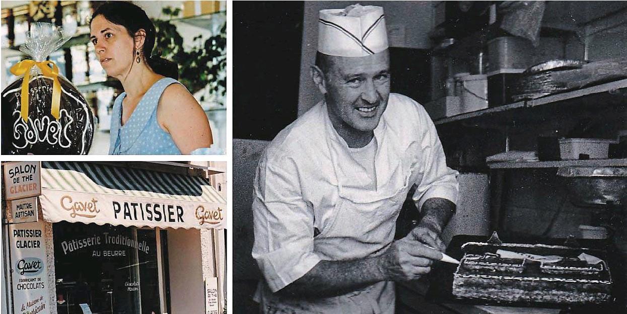 Pornic - 12/12/2017 - La famille Gavet, pâtissiers depuis cinq générations