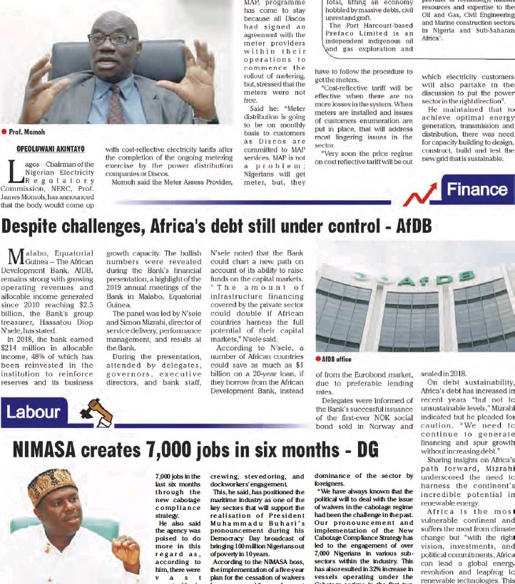 PressReader - SweetCrude Weekly Edition: 2019-06-19 - Nigeria's