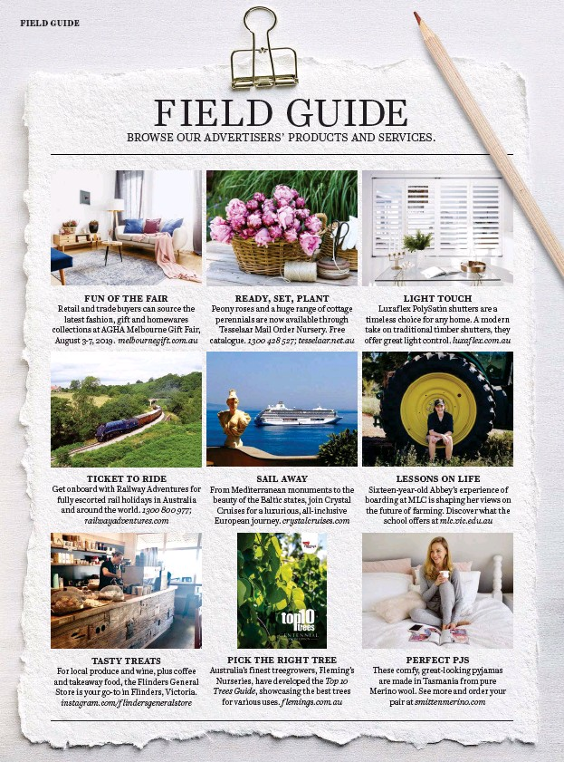 PressReader - Country Style: 2019-07-11 - Field Guide